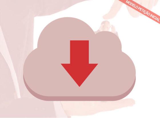 download modelo de petição de ação de danos morais