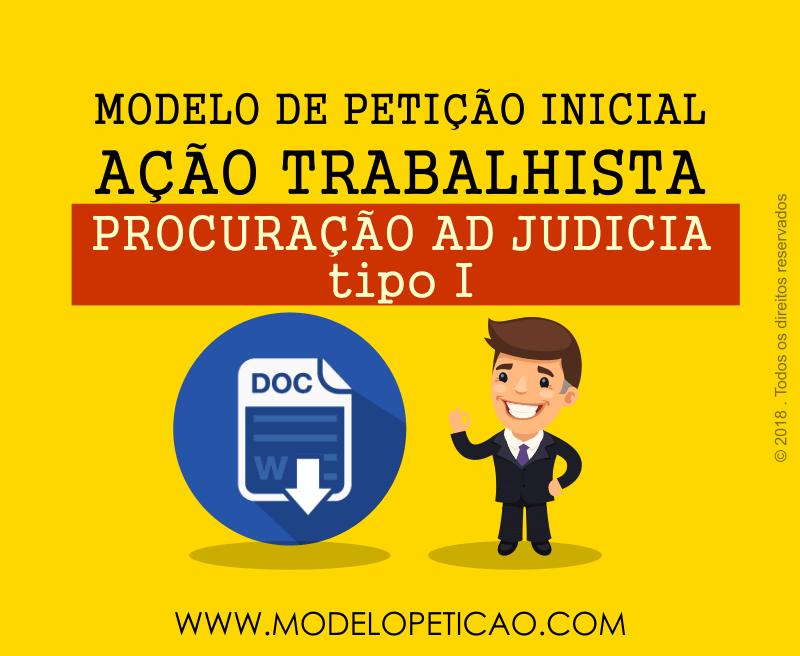Modelo de Procuração Ad Judicia I