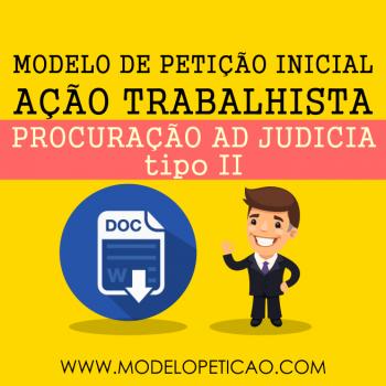 Modelo de Procuração Ad Judicia II